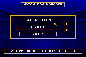 Match Day Manager 1
