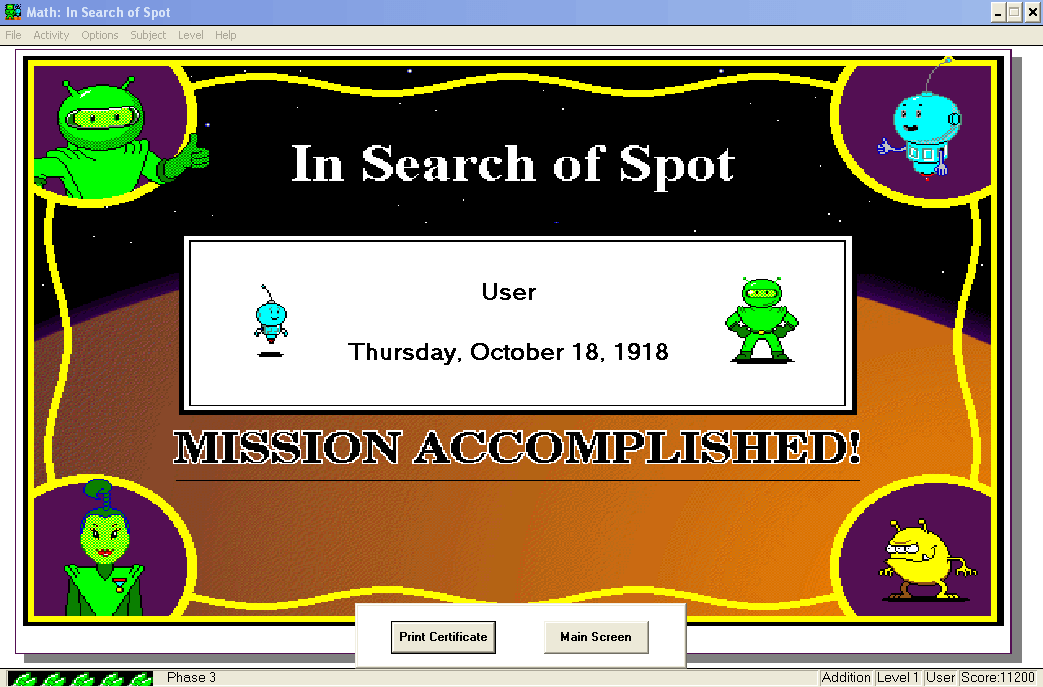 Math Blaster Ages 7-9 - In Search Of Spot 13
