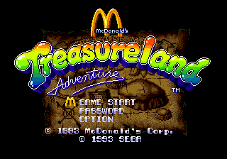 McDonald's Treasure Land Adventure 0