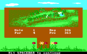 Accolade's Mean 18: Famous Course Disk - Volume III abandonware
