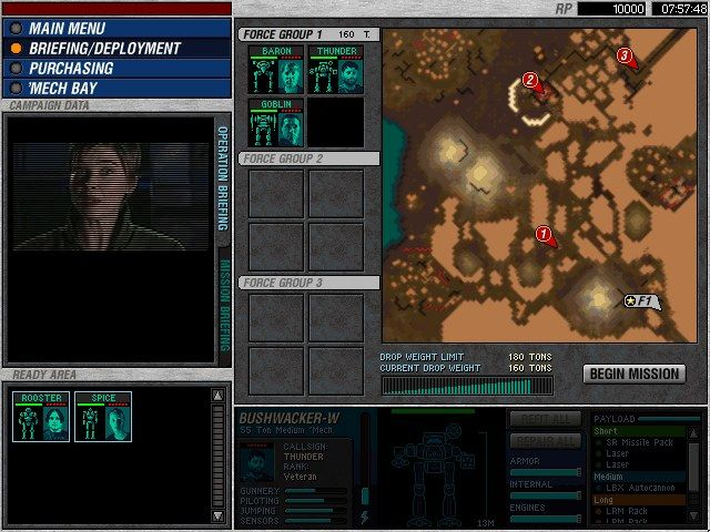 mechcommander free download full