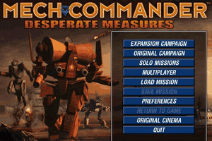 Mech Commander: Gold 0