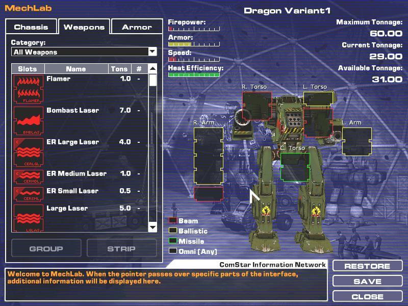 mechwarrior 4 mercenaries clan mech pack