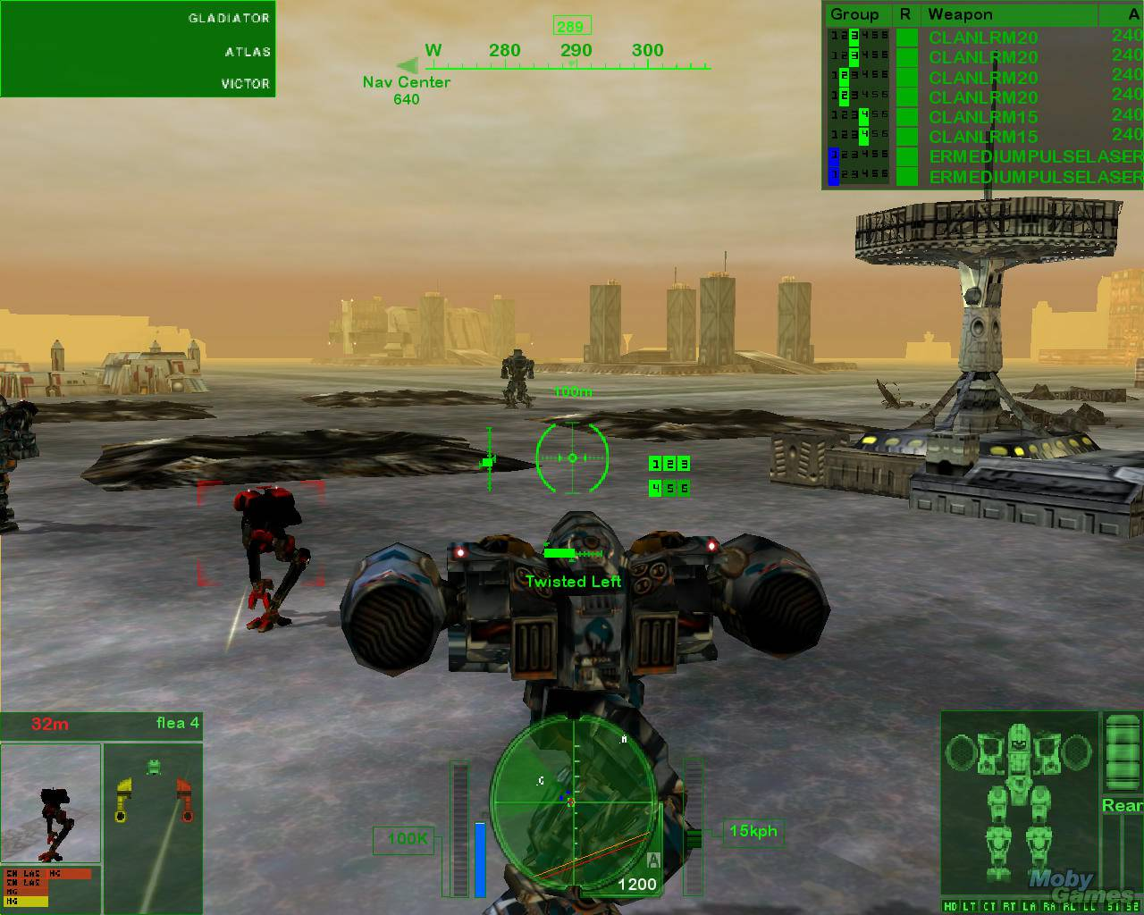 mechwarrior 4 vengeance