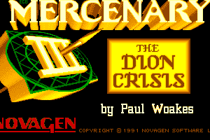 Mercenary III: The Dion Crisis 0