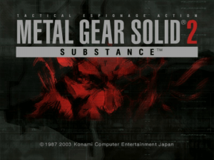Metal Gear Solid 2: Substance 0