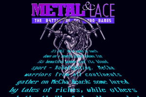 Metal & Lace: The Battle of the Robo Babes 1
