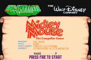 Mickey Mouse: The Computer Game 1