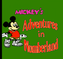 Mickey's Adventures in Numberland 0