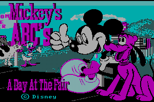 Mickey's ABC's: A Day at the Fair 4