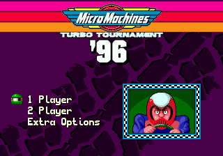 Micro Machines: Turbo Tournament 96 0