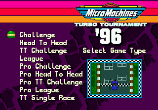 Micro Machines: Turbo Tournament 96 2