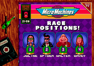 Micro Machines: Turbo Tournament 96 6