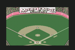 MicroLeague Baseball 0