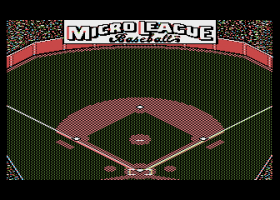 MicroLeague Baseball 1