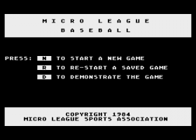 MicroLeague Baseball 2