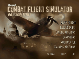 Microsoft Combat Flight Simulator: WWII Europe Series 0