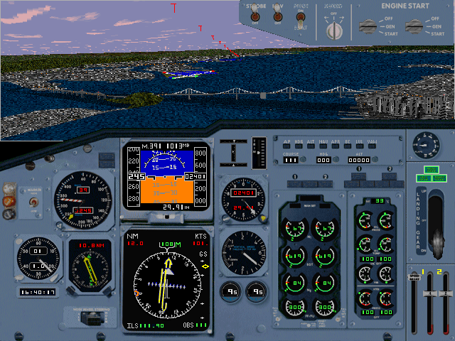 Download Microsoft Flight Simulator for Windows 95 (Windows