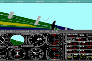 Microsoft Flight Simulator (v3.0) 1