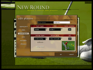 Microsoft Golf 1998 Edition 13