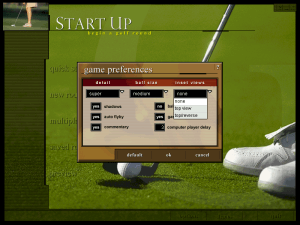 Microsoft Golf 1998 Edition 3