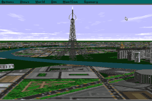 Microsoft Paris: Scenery Enhancement for Microsoft Flight Simulator abandonware
