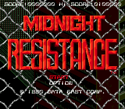 Midnight Resistance 0