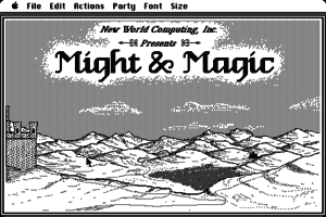 Might and Magic: Book One - Secret of the Inner Sanctum 1