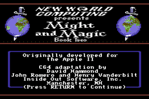 Might and Magic II: Gates to Another World 2