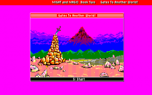 Might and Magic II: Gates to Another World 0