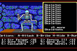 Might and Magic II: Gates to Another World 7