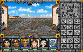 Might and magic 5: darkside of xeen rpg for dos (1993.