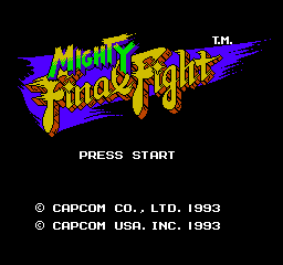 Mighty Final Fight 0