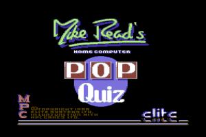 Mike Read's Computer Pop Quiz 0