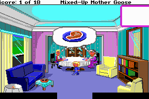 Mixed-Up Mother Goose abandonware