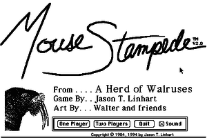 Mouse Stampede 0