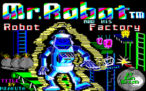 Mr. Robot and His Robot Factory abandonware