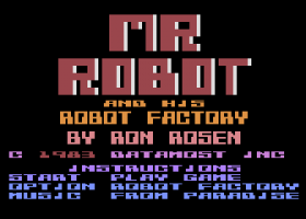 Mr. Robot and His Robot Factory 1