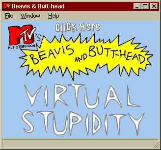 MTV's Beavis and Butt-Head in Virtual Stupidity 0