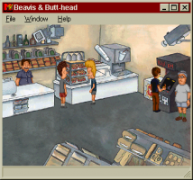 MTV's Beavis and Butt-Head in Virtual Stupidity 2