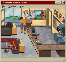 MTV's Beavis and Butt-Head in Virtual Stupidity 5
