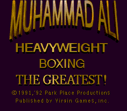 Muhammad Ali Heavyweight Boxing 0