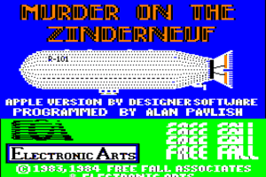 Murder on The Zinderneuf 0