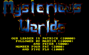 Mysterious Worlds 0