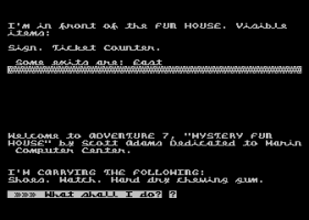 Mystery Fun House abandonware