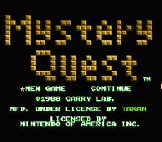 Mystery Quest 0