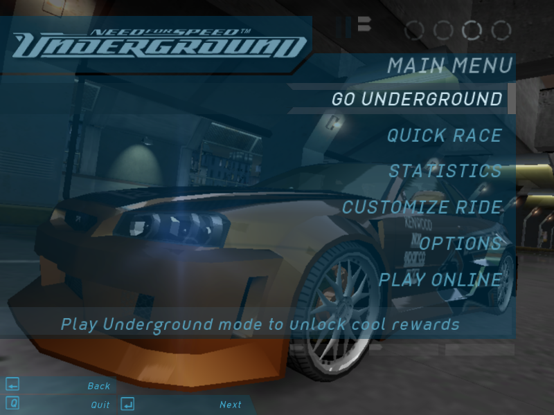 Need For Speed Underground 1