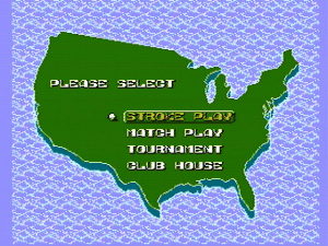 NES Open Tournament Golf 1