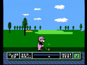 NES Open Tournament Golf 4