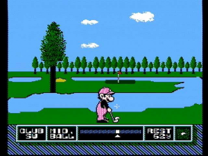 NES Open Tournament Golf 7